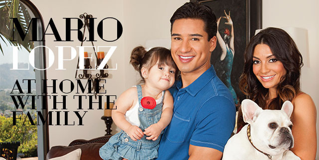 At Home With Extra Host Mario Lopez And Wife Courtney Mazza