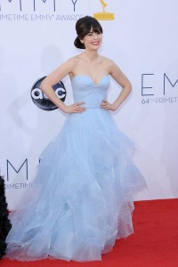 Zooey Deschanel 64th Annual Primetime Emmy Awards - Arrivals