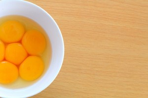 eggs uncooked