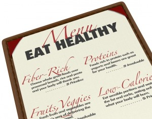 Eating Healthy  Menu