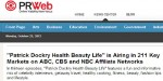 """Patrick Dockry Health Beauty Life"" is Airing on ABC, CBS and NBC Affiliate Networks"