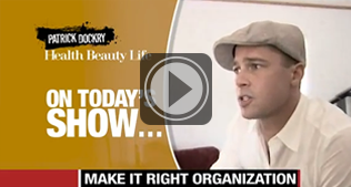 Spend A Day In Malibu, Check in with Brad Pitt's Make It Right Organization