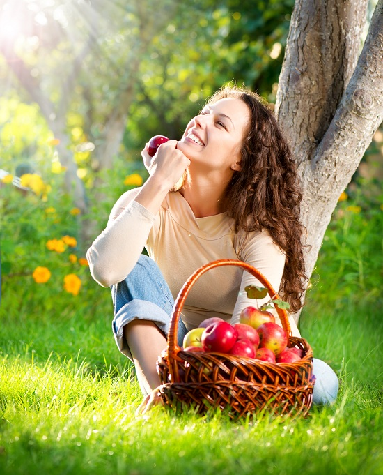 natural fruit basket