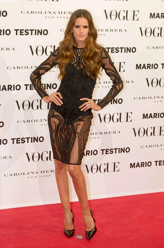 11/27/2012 - Izabel Goulart - Vogue and Mario Testino Launch Vogue Magazine December 2012 Issue in Madrid