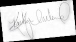 Kathy Ireland Signature