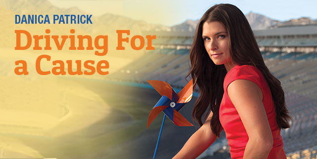 Driving For A Cause: Danica Patrick