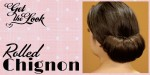 Get the Look: Rolled Chignon