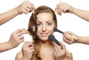 makeup haircolor