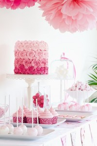 event with cake pops