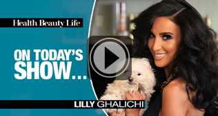 Health Beauty Life visits Freshology for healthy cuisine and Star of Bravo's Shahs of Sunset, Lilly Ghalichi.