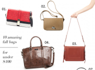 10 Amazing Fall Bags for Under $100