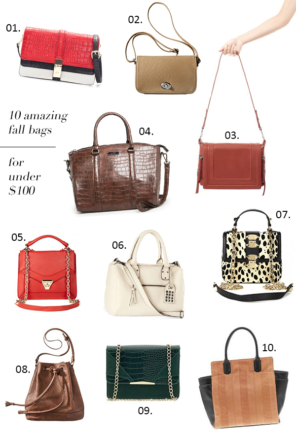 Fall Bags for Under $100