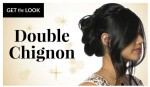 Get the Look: Simple and Chic Double Chignon