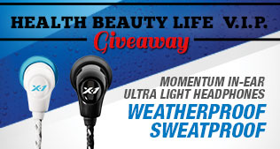 Become a Health Beauty Life VIP for a chance to win X1 Headphones
