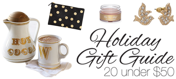 Holiday Gift Guide: 20 Under $50