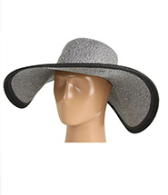 Echo Design - Metallic Floppy Hat (Silver) - Hats