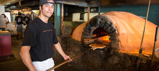 Flatbread Company pizzas start with organic ingredients and bake to perfection in wood-fired ovens.