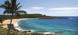 Pu'u Pehe, one of Lāna'I's most recognizable landmarks.
