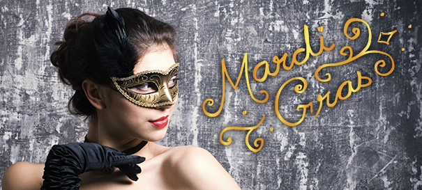 Mardi Gras – Fun Hair & Make-up Looks