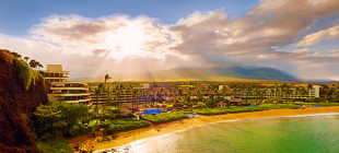 Located where the legendary Pu'u Keka'a or Black Rock of Kā'anapali meets the ocean, this impressive 23-acre oceanfront resort offers a memorable stay.