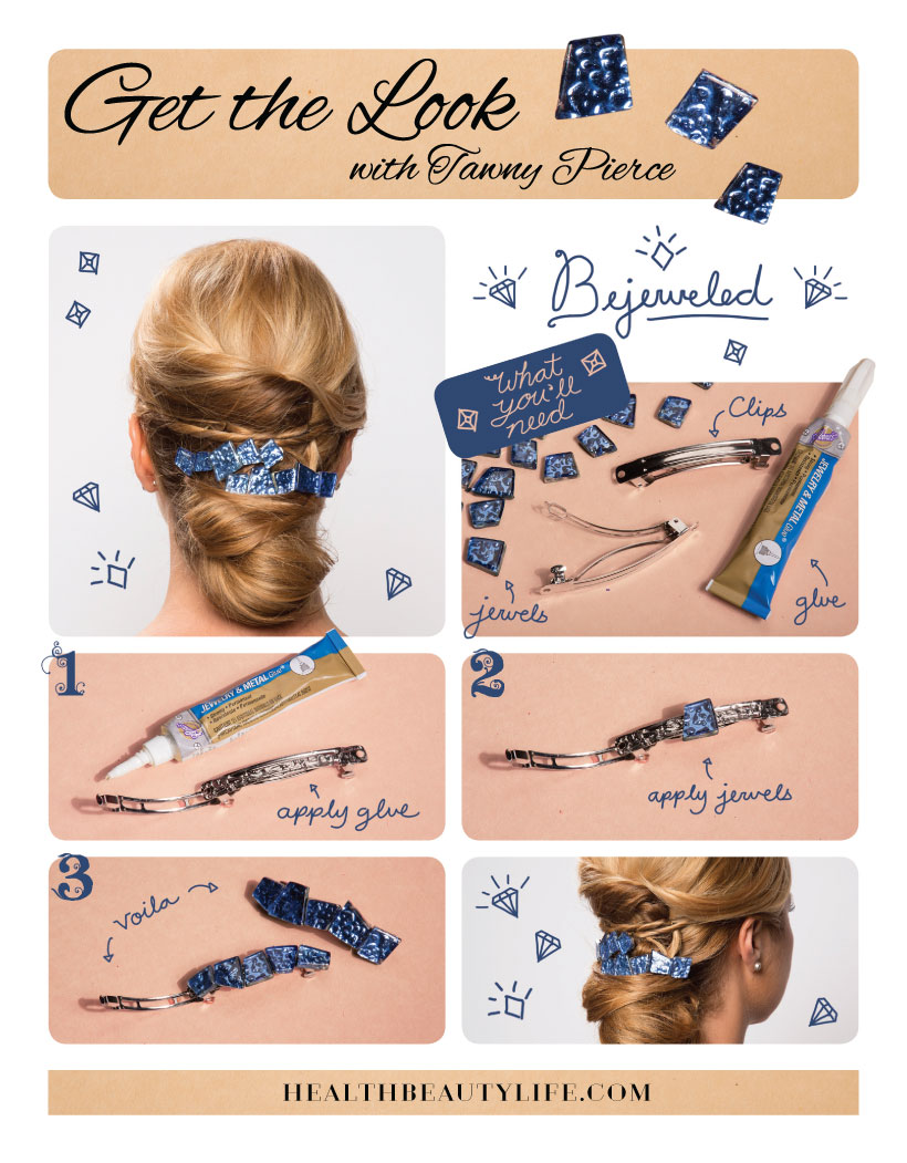 Spring Hair Trend: DIY Hair Accessories