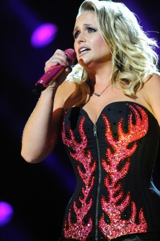Miranda Lambert Flame Corset 2013