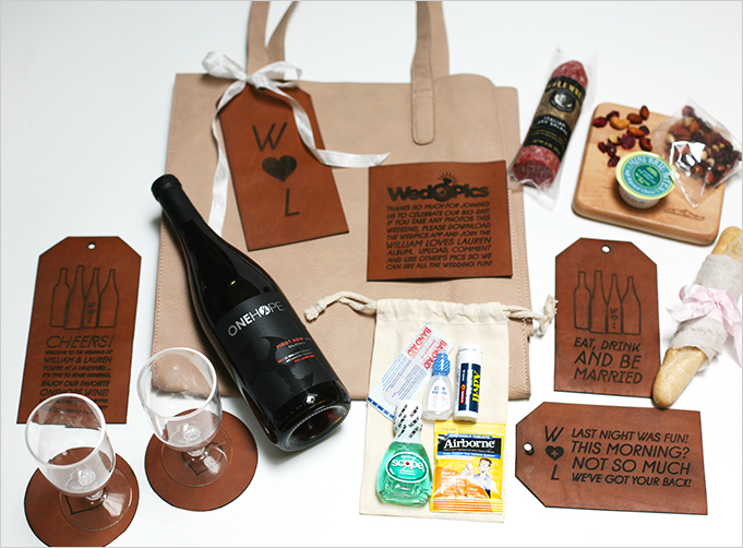 Rue Wedding Welcome Bag