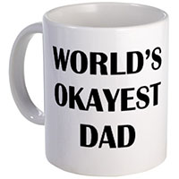World's Okayest Dad Mug