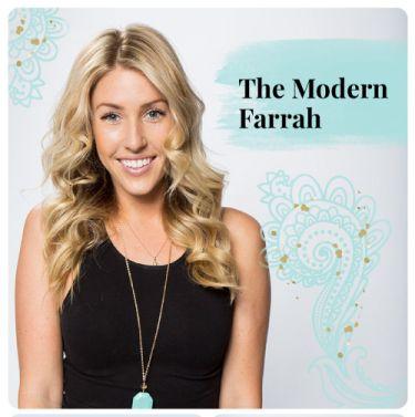 Modern Farrah Hairstyle DIY 2