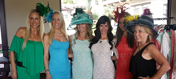 Del Mar Opening Day Fashion: Mia Brazilia