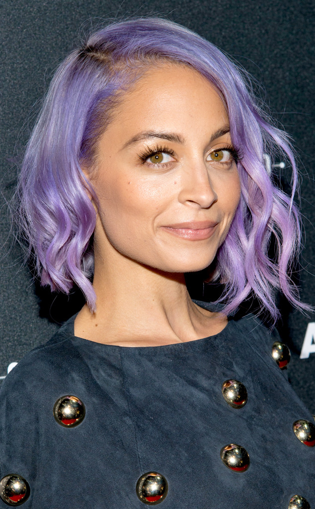 Nicole Richie Hair Lob