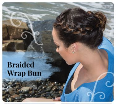 Braided Wrap Bun DIY 2