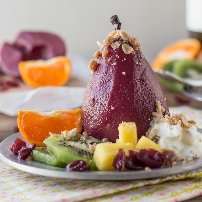 Sangira Poached Pears