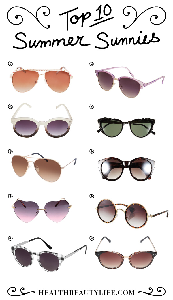 TOP_10_SUMMER_SUNNIES_COLLAGE