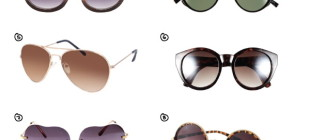 Top 10 Summer Sunnies