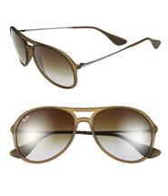 Ray Ban 'Youngster' 59mm Aviator Sunglasses