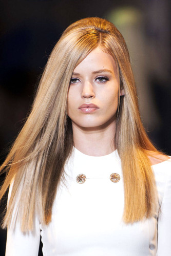 Blonde Hair Versace 2014