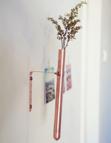 DIY Copper Vase