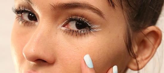 Nanette Lepore White Eyeliner