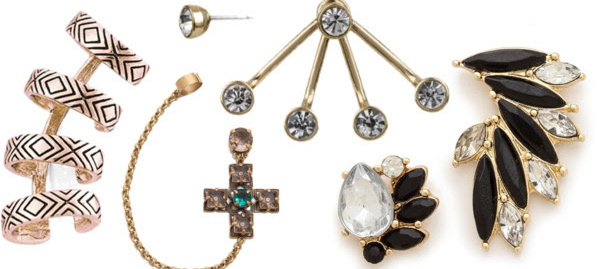 Trend Watch: Asymmetrical Earrings