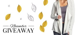 November Giveaway – Designer Hooded Cardigan from Elan