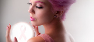 Stunning Hair and Makeup for Breast Cancer Awareness