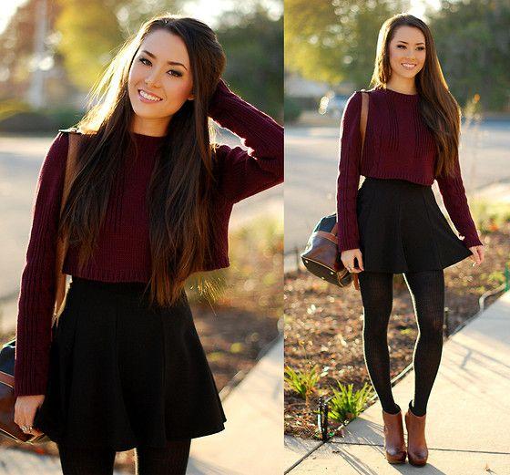 Fall Circle Skirt