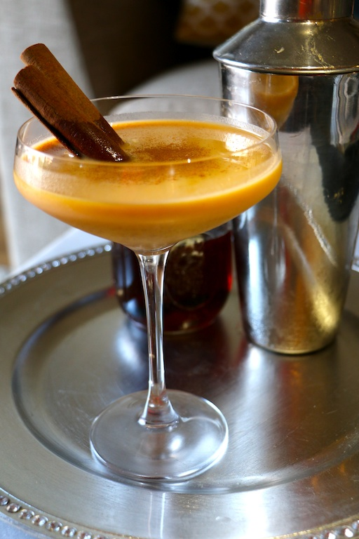 pumpkin-fireball-cocktail from toliveanddiet