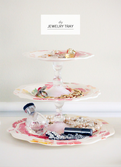 DIY Jewely Tray
