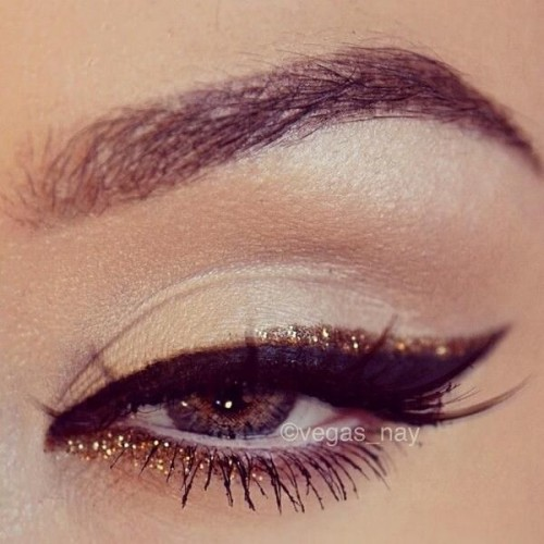 Gold Top & Bottom Liner