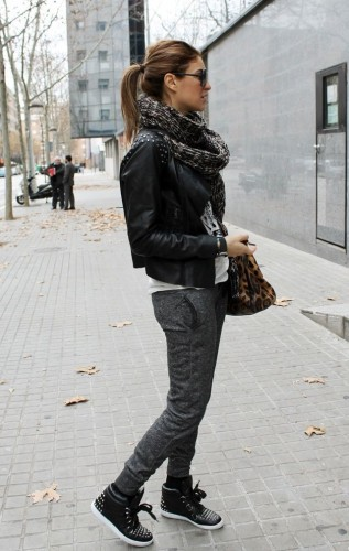 Scarf High Tops