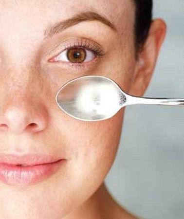 Spoon Under Eye