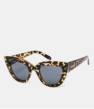 ASOS Flat Top Cat Eye Sunglasses - Tortoise