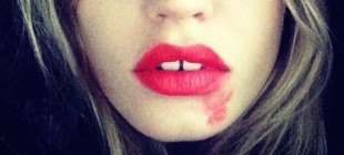 Smeared Lipstick Selfies Replace the Ice Bucket Challenge